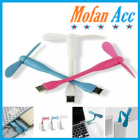 Kipas Angin USB Mini 2 Baling Flexibel / Fan USB Portable