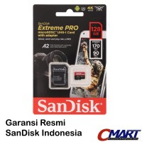 SanDisk Extreme PRO microSD 128GB 170MB micro SD SDXC SDSQXCY-128GGN6M