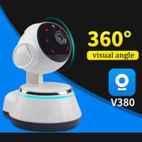 Smart Camera Wifi V380 HD720 Wireless Mini IP CCTV Phone audio