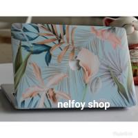 Macbook Air New 13 Mac Book Flower Case Cover Hard Soft Casing Skin