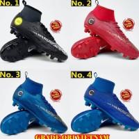 Sepatu Sepak Bola Anak Nike Mercurial - Hitam, 34