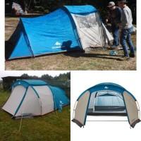 Quechua Tenda Camping 4 orang Tenda Family Tent 3.9m2
