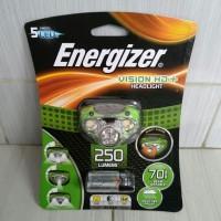 headlamp headlight Energizer senter kepala 5 led 250 lumens