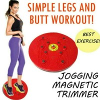 Jogging Trimmer / Magnetic Trimmer Body Plate / Alat Olahraga