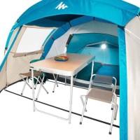 Quechua Arpenaz Family 4 Dome Tent Tenda Camping Keluarga Untuk 4 Oran