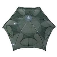 Perangkap udang 6 lubang model payung / Perangkap ikan / Jaring ikan