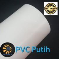 Polyflex PVC KOREA White / Putih 1 meter murah