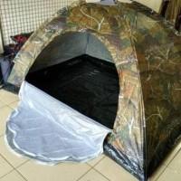 tenda dome ultralight kap 2-3 orang loreng berat 1,4kg