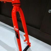 Paket frame seli sepeda Lipat XLR8 Alloy Aluminium 406 451 20inch