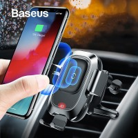 IMPORT Baseus 10W Wireless Charger Car Phone Holder For iPhone XR