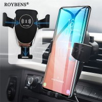 PREMIUM Wireless Charger Car Phone Holder For iPhone Samsung 10W