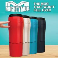Mighty Mug Tumbler Botol Minum Anti Tumpah Gelas Double Layer H331