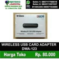 WIRELESS USB CARD ADAPTER DWA-123