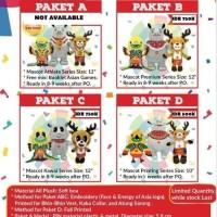 Boneka Maskot Asian Games 2018 Original / Paket B dan C