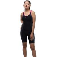 Pakaian Renang Wanita Speedo AF FIT ESS SPL MSBK W Swimwear- Black