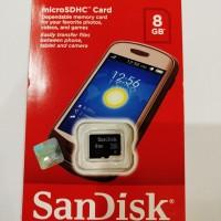 Memory SanDisk 8GB Class 4