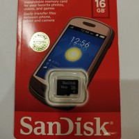Memory SanDisk 16GB Class 4