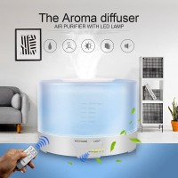 500ml Essential Oil Diffuser Humidifier Berwarna Ultrasonic Aroma