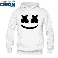 Jaket Sweater Hoodie - Marshmello Face - By Crion