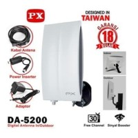 Antena TV Digital Indoor / Outdoor PX DA-5200 / DA5200