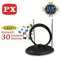 PX IA-200N ANTENA DALAM LED TV DIGITAL INDOOR DVBT2 IA 200 N