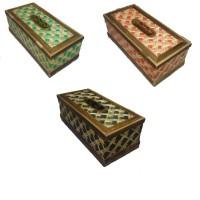 Kotak Tisu Bambu Unik Kerajinan Tangan