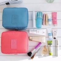 tas make up kosmetik makeup multifungsi travel pouch serbaguna