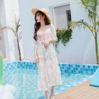 Cardigan Kimono Murah Panjang Bikini Outer Murah Cover Up Bikini Dress