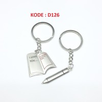 Gantungan Kunci Couple D126