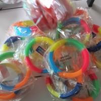 karet pelindung bioglass 2s 2+ diameter 10cm rainbow ring