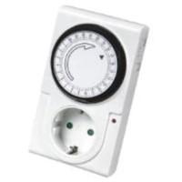New TIMER 24 Jam Stop Kontak Analog / Alat Pengatur Waktu Otomatis