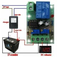 Kit Modul Control Charger Aki Otomatis 12V Charger Accu