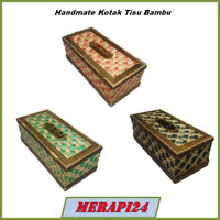 Handmate Unik Kotak Tisu Bambu