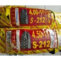 Ban Swallow Japstyle 4.00-17 & 4.50-17 Plus Ban Dalam Paket Wiro S-212