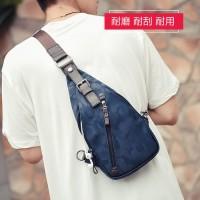 Sling Bag Pria CAMMO BLUE