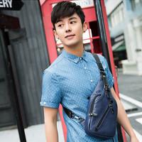 Sling Bag Pria - Tas Selempang Pria Marble (BLUE)