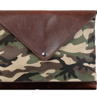 Clutch Bag pria Camouflage (Size Besar)