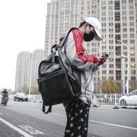 Ransel Kulit Pria - Backpack Kulit Pria dengan Port USB (COOPER)