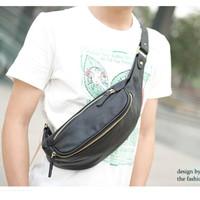 Tas Bahu / Sling Bag / Chest Bag Pria (Black)