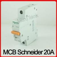 MCB Domae SCHNEIDER 1P 20A MCB C20 SENEIDER