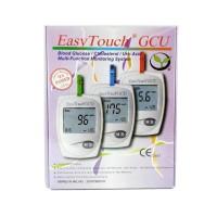 Easy Touch GCU Kit EasyTouch Alat Tes Cek Gula Darah Kolesterol Asam