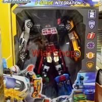 Mainan Anak Tobot Magma 6 6in1 JUMBO Tinggi Robot 35CM Bukan Ori