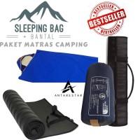 KOMPLIT Sleeping Bag Bantal SB Ultralight Plus Matras Camping - PAKET