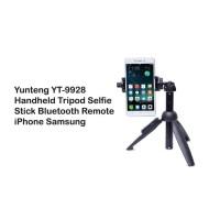Terbaru Tongsis Tripod Yunteng Yt-9928 Bluetooth 2 In 1 Original /