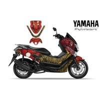 DECAL STICKER MOTOR YAMAHA NMAX IRON MAN DESIGN
