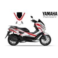 DECAL STICKER MOTOR YAMAHA NMAX WHITE SIMPLE