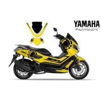 DECAL STICKER MOTOR YAMAHA NMAX YELLOW SIMPLE EDITIONS