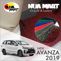 Karpet Mobil Mie Bihun TOYOTA AVANZA dan XENIA 2019 1 warna non bagasi