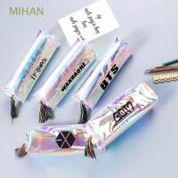 Promo Kotak Pensil Bahan Kulit PU Anti Air Warna Hologram