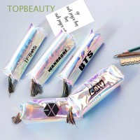 Promo Kotak Pensil Warna Hologram Bahan Kulit PU Anti Air
